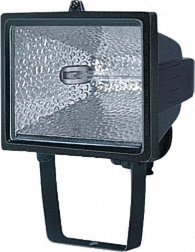 Halogenstrahler 500 IP44 350 W Farbe: Schwarz