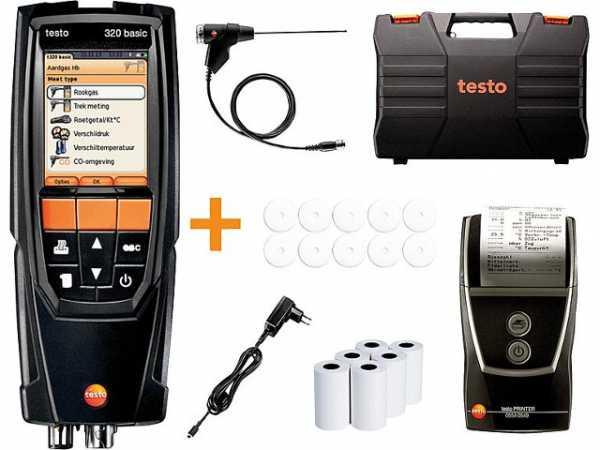 Abgasanalysegerät testo 320-Basic Set, 0563322372