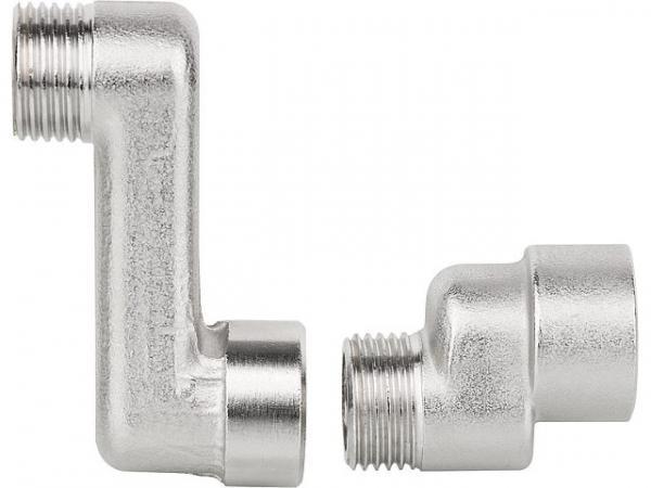 S-Anschluss AGxIG DN10(3/8')xDN10(3/8'), Achsabstand 50mm