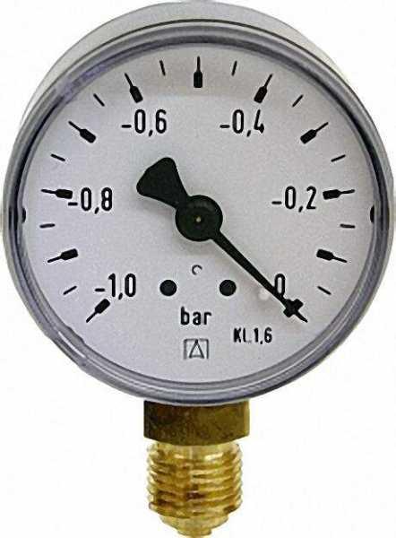 Manometer 0-2, 5bar 50mm für G1/4
