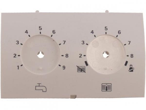 WOLF 1710206 Fronteinsatz Regelungsgehäuse