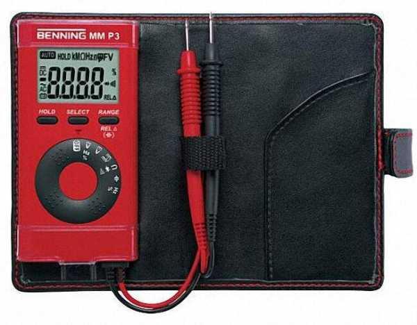 BENNING Digital Multimeter Typ MM P3 Taschenformat