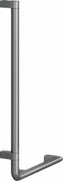 Winkelgriff Serie Cavere aus Alu., Anthrazit-Metallic 95, 750x400mm, 90°, linke Ausführung