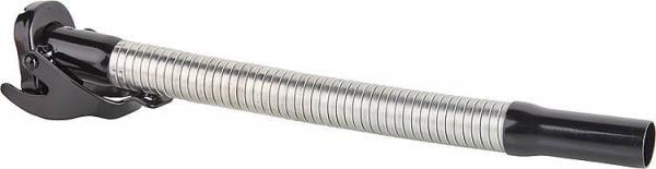 Ausgussstutzen flexibel für Diesel, d=25mm, RAL 9005 schwarz