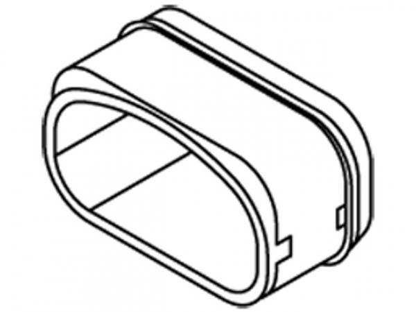 VIESSMANN 7440213 Lippendichtung für Flachkanal System 100 aus Kunststoff VPE 10 Stück