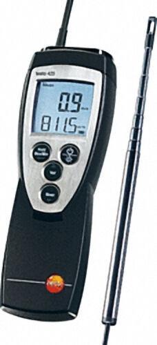 TESTO 0560 4251 /425 thermisches Anemometer mit fest angeschlossener Strömungssonde (mit Teleskop-So