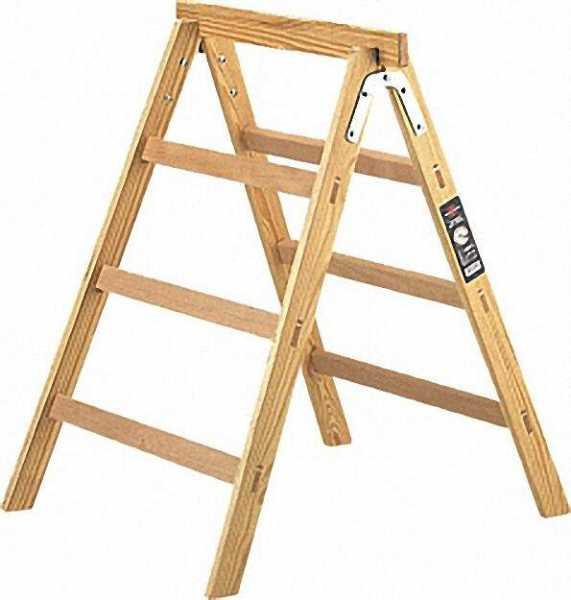 Holz Arbeits- oder Tapezierbock Höhe 90cm / Breite 63 cm