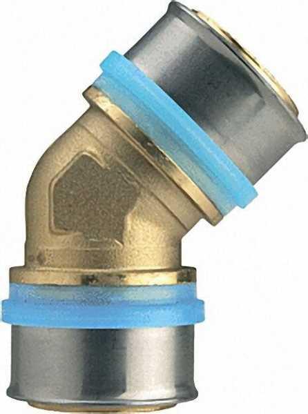 Pressfitting für MSVR Winkelkupplung 45°, 26x3 - 26x3mm