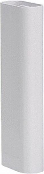 Standkonsolen Zubehör Design-Rohr weiß-glänzend für Super-Standfix-Plus