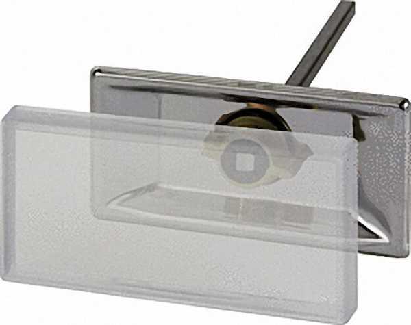 Schweißhalter Edelstahl für Schilder 100 x 50mm VPE 25 Stück