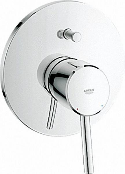 GROHE EH-Wannenbatterie 'Concetto' Chrom (ohne UP-Einbaukörper)