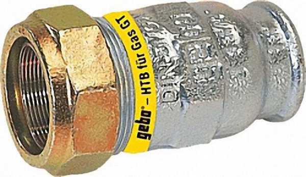 GEBO Temperguss-Klemmverbinder IG Gas PN 4, Typ IT 3/4'' (26,9)