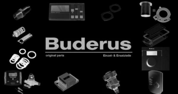 Buderus 63006509 Rezirkulationsrohr TE 21G