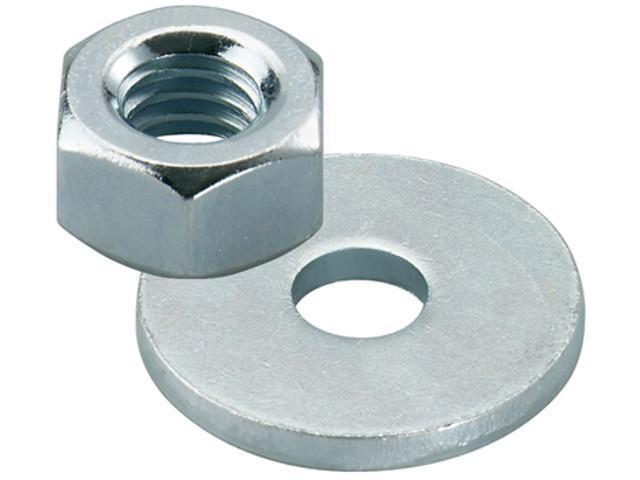 Fischer 510515 Muttern/Scheiben f. FIS A M 12 A4 nicht rostender Stahl