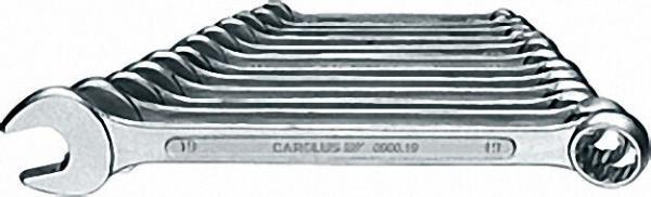 CAROLUS Ring-Maulschlüssel-Satz 12-tlg. 10, 11, 12, 13, 14, 17, 19, 22, 24, 27, 30, 32