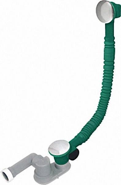 Wannenablaufgarnitur Messing Typ Clicker 70x1 1/2'' mit Geruchsverschluss