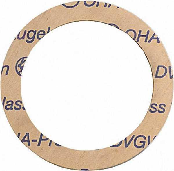 OHA-Press-Radiatoren-Dichtungen 1 1/4'' 42 x 55 x 1mm 100 Stück