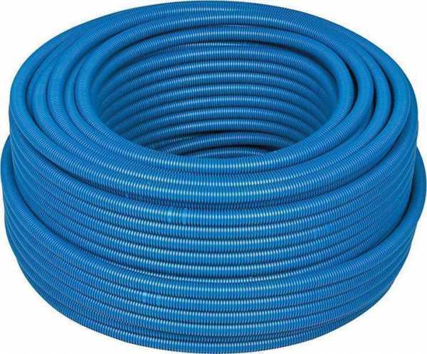 Kunststoffwellrohr RIL-PA6-HB 33433, blau, biegsam
