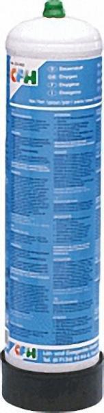 Sauerstoff-Ersatzflasche 1-Liter, 105 bar