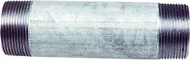 Rohrdoppelnippel, verzinkt 3/4'', 200mm AG/AG WG801