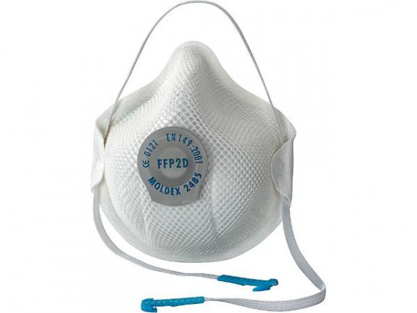 Atemschutzmaske FFP2 D Aktiv Form mit Dichtlippe u. Klimaventil VPE 20 Stück