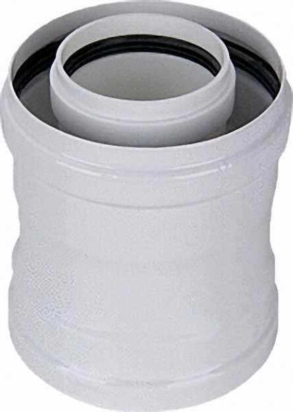 Kesseladapter 60/100 passend für Intercal Ecoheat-Gas