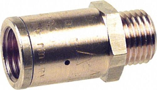 Druckreduzierventil 1/4''IG x 1/4''AG max. Eingangsdruck 15 bar konst. Ausgangsdruck 3,0 bar