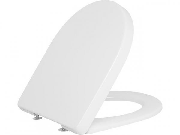 WC-Sitz Edos Edelstahlsteckscharnier, Softclose mit Take off Funktion, Duroplast