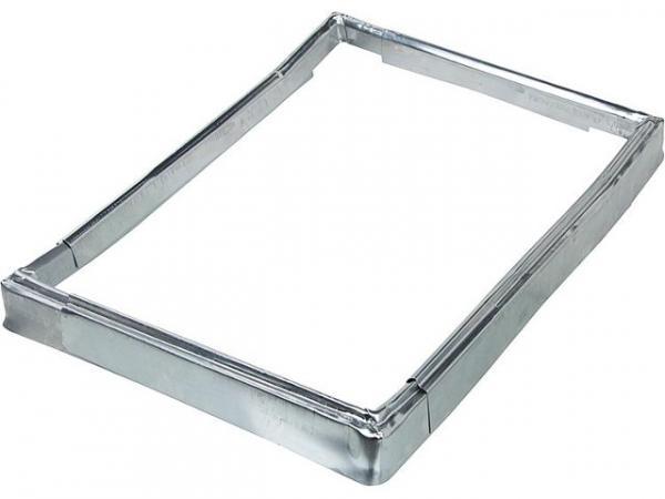 Überhangsteckrahmen Titanzink für Kamineinfassung,Schenkel- länge 310x440mm