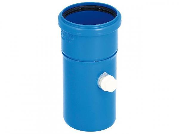 CondensBlue Rohrelement mit Messöffnung, einwandig DN 60