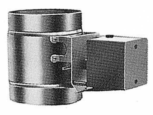 WOLF 2484069 Abgasklappe dichtschließend D110motorbetrieben(nicht für NG-2P verwendbar)(ersetzt Art.-Nr. 2450330)