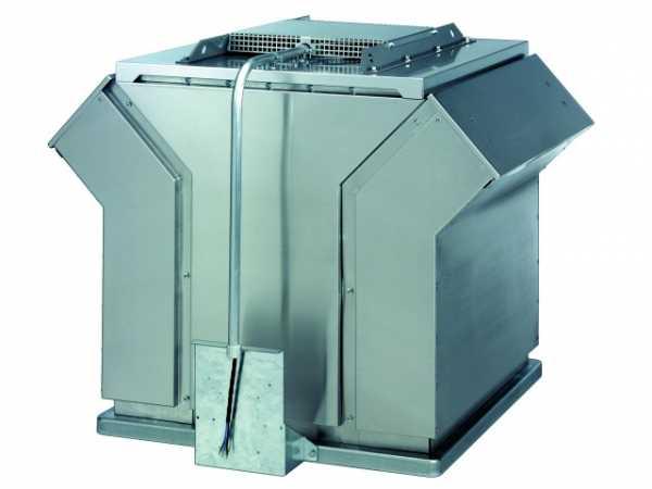 Wolf Entrauchungsventilator ER - RDM 56 Typ: RDM 56-7180-8D-21, 400 C/120 min