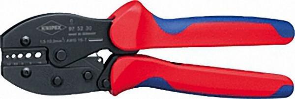 Crimpzange PreciForce verwendbar für unisolierte Stoßverbinder Länge 220mm 1, 5-10,0mm²