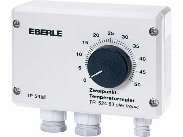 EBERLE Temperaturregler Typ TR 524 83 0 . . ,50°C