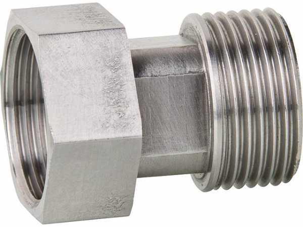 Edelstahlverschraubung DN32(11/4') AGxÜberwurfmutter