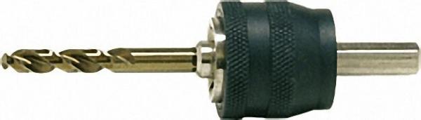 Adapter mit 9,5mm Sechskant-schaft HSS-Co Zentrierbohrer