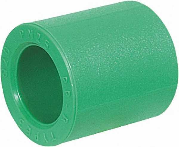 PPR Rohr Aqua-Plus Muffe PN25 25mm