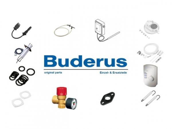 Buderus 87090070 Erweiterungsset Abgaskaskade für 1-Kessel, DN200, GB162