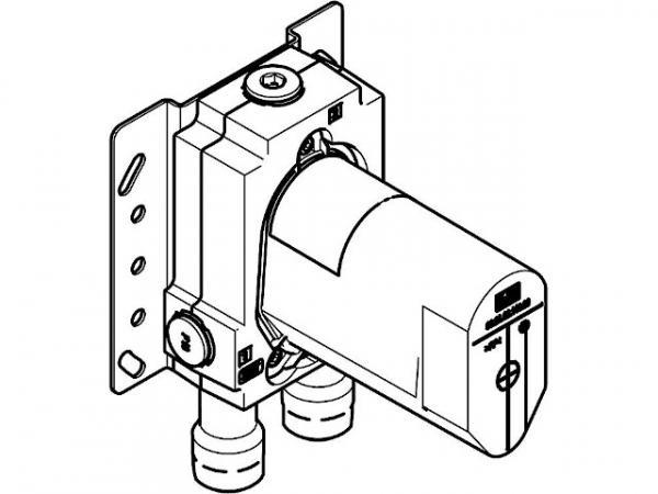Grundkörper Dornbracht für UP-Einhebelmischer mit Sicherungseinrichtung