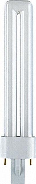 Energiesparlampe Dulux S für KVG 9W/840 Cool White