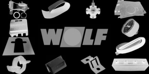 WOLF 8751657 Verkleidung oben hinten, Weiß