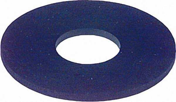 Gummi-Membranen flach für Spülkästen 63 x 32 x 3mm 25 Stück
