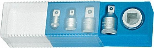 GEDORE Adapter-Satz, 5-tlg. Reduzier- und VergrößerungsStücke 1/4''-3/4'' in Kunststoffbox (G)