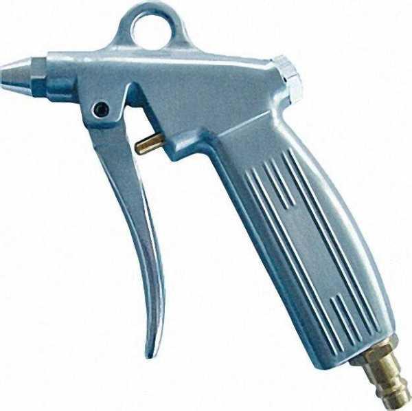 Ausblasepistole aus Alu, mit Kurzdüse Stecknippel NW 7, 2