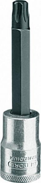 Schraubendreher-Einsatz 1/2'' Innen Torx T 27 / L 100mm (G)