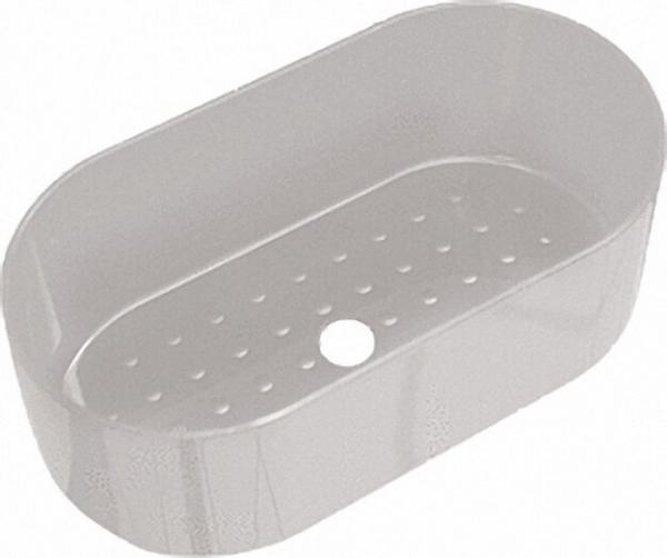 Ablage Fb. manhattan, aus Nylon 210 x 110 x 75mm, zum Aufklipsen auf Nylon-Duschhandläufe