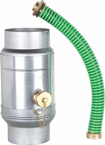 Automatischer Wassersammler Titanzink