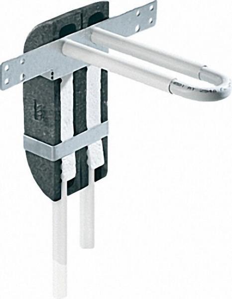 Wandbox aus EPP mit Rohrbogeneinheit aus MSV Rohr 16 x 2,0mm in L-Form inklusive Isolierbox