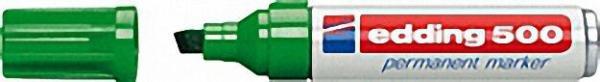 EDDING Permanentmarker 500 grün Strichbreite 2 - 7mm Keilspitze