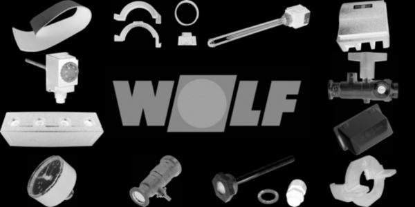 WOLF 1730860 Schalldämmhaube groß inkl. Clip, Weiß